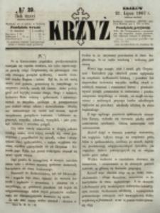 Krzyż. R. 3 (1867), nr 29