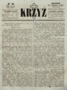 Krzyż. R. 3 (1867), nr 41