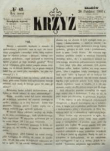 Krzyż. R. 3 (1867), nr 42