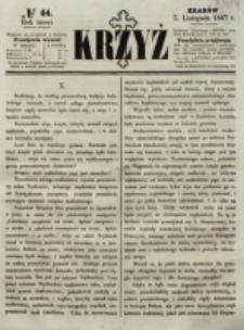 Krzyż. R. 3 (1867), nr 44