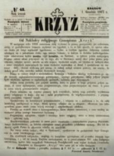 Krzyż. R. 3 (1867), nr 48