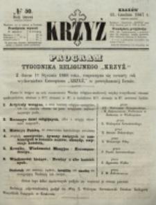 Krzyż. R. 3 (1867), nr 50