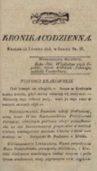 Kronika Codzienna. 1823, nr 53 (22 lutego)