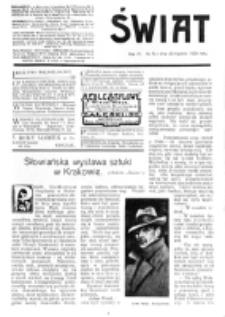 Świat : [pismo tygodniowe ilustrowane poświęcone życiu społecznemu, literaturze i sztuce. R. 4 (1909), nr 5 (30 stycznia)