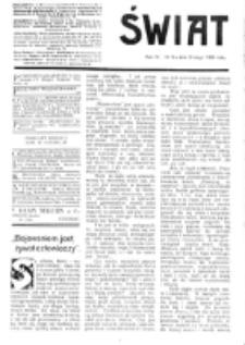Świat : [pismo tygodniowe ilustrowane poświęcone życiu społecznemu, literaturze i sztuce. R. 4 (1909), nr 6 (6 lutego)
