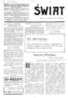 Świat : [pismo tygodniowe ilustrowane poświęcone życiu społecznemu, literaturze i sztuce. R. 4 (1909), nr 14 (3 kwietnia)