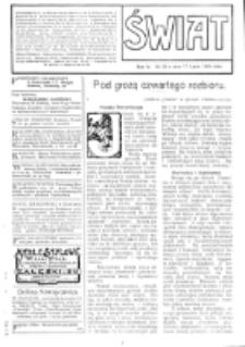 Świat : [pismo tygodniowe ilustrowane poświęcone życiu społecznemu, literaturze i sztuce. R. 4 (1909), nr 29 (17 lipca)