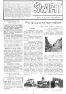 Świat : [pismo tygodniowe ilustrowane poświęcone życiu społecznemu, literaturze i sztuce. R. 4 (1909), nr 30 (24 lipca)