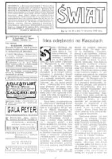 Świat : [pismo tygodniowe ilustrowane poświęcone życiu społecznemu, literaturze i sztuce. R. 4 (1909), nr 38 (18 września)