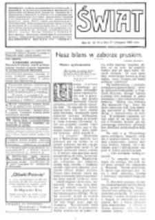 Świat : [pismo tygodniowe ilustrowane poświęcone życiu społecznemu, literaturze i sztuce. R. 4 (1909), nr 48 (27 listopada)