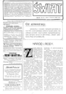 Świat : [pismo tygodniowe ilustrowane poświęcone życiu społecznemu, literaturze i sztuce. R. 4 (1909), nr 52 (25 grudnia)