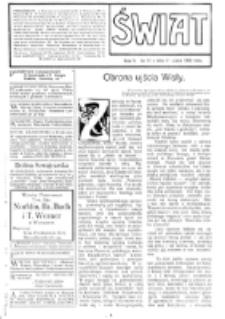 Świat : [pismo tygodniowe ilustrowane poświęcone życiu społecznemu, literaturze i sztuce. R. 4 (1909), nr 31 (31 lipca)