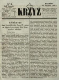 Krzyż. R. 4 (1868), nr 2