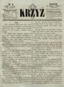 Krzyż. R. 4 (1868), nr 5
