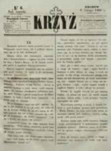 Krzyż. R. 4 (1868), nr 6