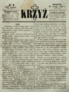 Krzyż. R. 4 (1868), nr 8