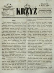 Krzyż. R. 4 (1868), nr 9