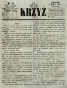 Krzyż. R. 4 (1868), nr 10