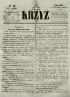 Krzyż. R. 4 (1868), nr 15