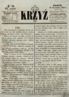 Krzyż. R. 4 (1868), nr 16