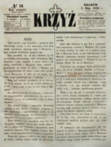 Krzyż. R. 4 (1868), nr 18