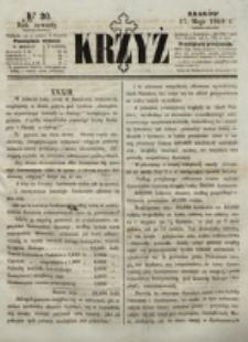 Krzyż. R. 4 (1868), nr 20