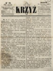 Krzyż. R. 4 (1868), nr 24