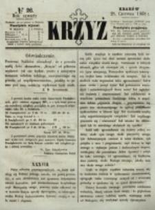 Krzyż. R. 4 (1868), nr 26