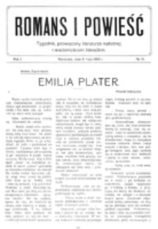 Romans i Powieść. R. 1, nr 19 (8 maja 1909)
