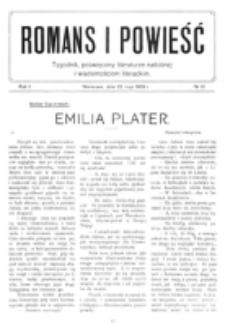 Romans i Powieść. R. 1, nr 21 (22 maja 1909)