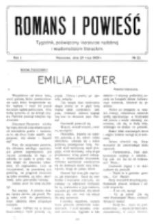 Romans i Powieść. R. 1, nr 22 (29 maja 1909)