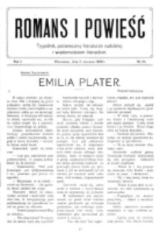 Romans i Powieść. R. 1, nr 23 (5 czerwca 1909)