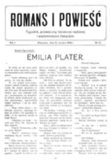 Romans i Powieść. R. 1, nr 24 (12 czerwca 1909)