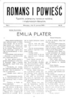 Romans i Powieść. R. 1, nr 25 (19 czerwca 1909)