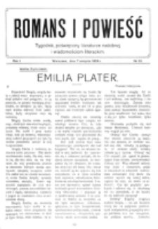 Romans i Powieść. R. 1, nr 32 (7 sierpnia 1909)
