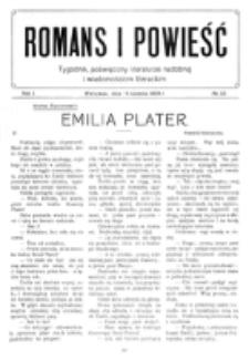 Romans i Powieść. R. 1, nr 33 (14 sierpnia 1909)