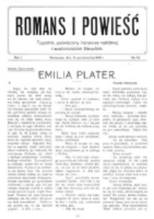 Romans i Powieść. R. 1, nr 42 (16 października 1909)