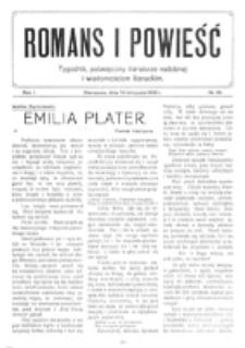 Romans i Powieść. R. 1, nr 46 (13 listopada 1909)