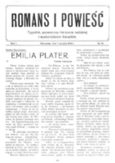 Romans i Powieść. R. 1, nr 50 (11 grudnia 1909)
