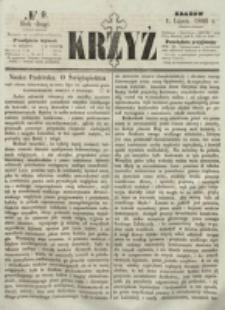 Krzyż. R. 2 (1866), nr 9