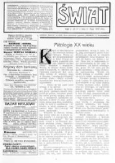 Świat : [pismo tygodniowe ilustrowane poświęcone życiu społecznemu, literaturze i sztuce. R. 5 (1910), nr 21 (21 maja)