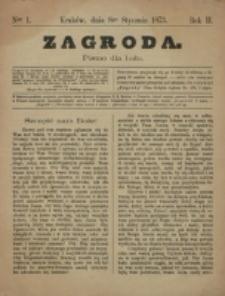 Zagroda : pismo dla ludu. R. 3, nr 1 (8 stycznia 1873)