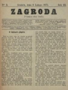Zagroda : pismo dla ludu. R. 3, nr 3 (8 lutego 1873)