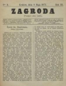Zagroda : pismo dla ludu. R. 3, nr 9 (8 maja 1873)
