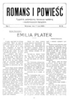 Romans i Powieść. R. 1, nr 29 (17 lipca 1909)_