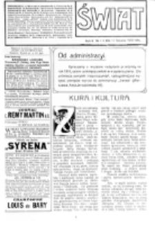 Świat : [pismo tygodniowe ilustrowane poświęcone życiu społecznemu, literaturze i sztuce. R. 5 (1910), nr 3 (15 stycznia)