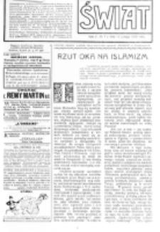 Świat : [pismo tygodniowe ilustrowane poświęcone życiu społecznemu, literaturze i sztuce. R. 5 (1910), nr 7 (12 lutego)