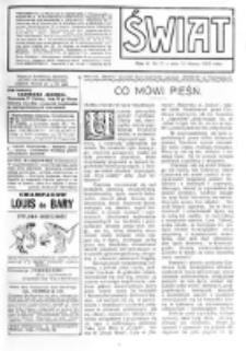 Świat : [pismo tygodniowe ilustrowane poświęcone życiu społecznemu, literaturze i sztuce. R. 5 (1910), nr 11 (12 marca)