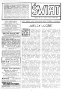 Świat : [pismo tygodniowe ilustrowane poświęcone życiu społecznemu, literaturze i sztuce. R. 5 (1910), nr 23 (4 czerwca)