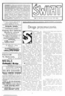 Świat : [pismo tygodniowe ilustrowane poświęcone życiu społecznemu, literaturze i sztuce. R. 5 (1910), nr 32 (6 sierpnia)